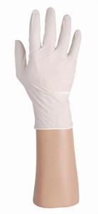 Latex handschoenen wit, ongepoederd