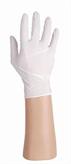 Latex handschoenen wit, gepoederd