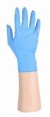 Latex handschoenen blauw, ongepoederd