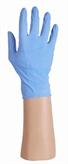 Latex handschoenen blauw, gepoederd