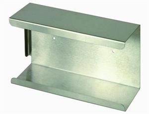 RVS dispenser voor de handschoen box Latex, Nitril en Vinyl