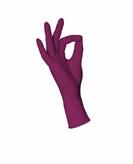 Nitril handschoenen ongepoederd rood